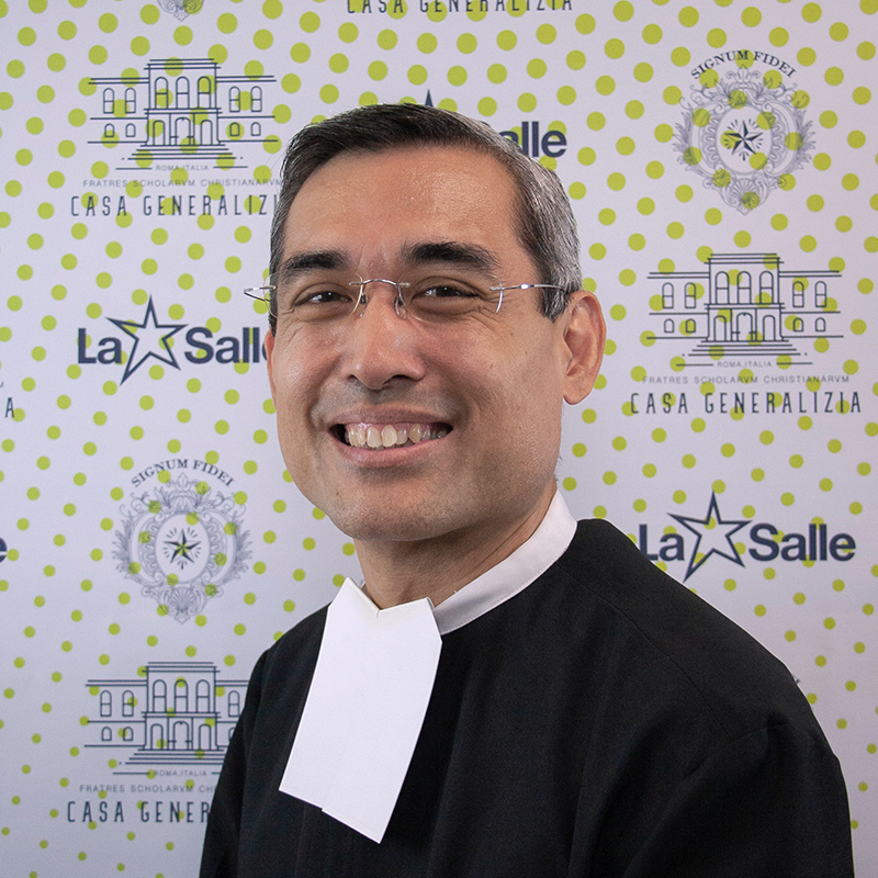 Br. Ricardo Laguda  – General Councilor